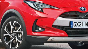 Toyota Yaris SUV - front detail (watermarked)