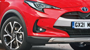 Toyota Yaris SUV - front detail (watermarked)