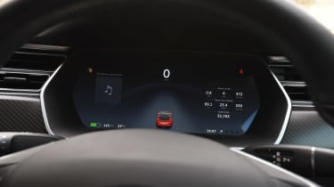 Tesla Model S long-term final report - instruments