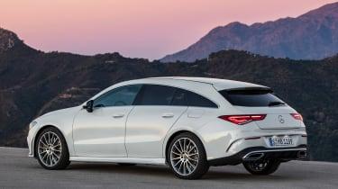 Mercedes CLA Shooting Brake - rear static