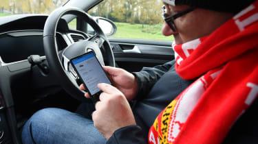 Volkswagen e-Golf long-term test - Net-Car app