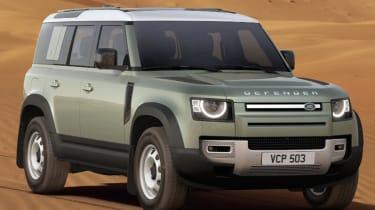 Johnny Burn Land Rover Defender