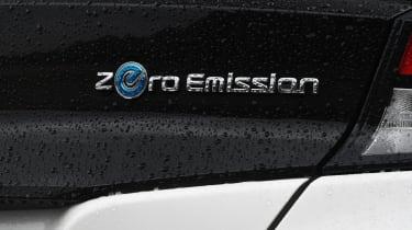 Nissan Leaf badge