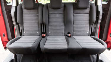 Vauxhall Combo Life - back seats