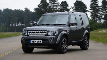 Land Rover Discovery static