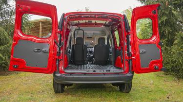 Nissan NV250 rear doors