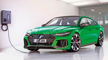 Audi RS 7 - exclusive image (watermarked)