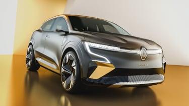 Renault Megane eVision - front static