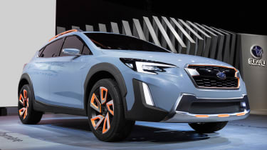 Subaru XV concept - front