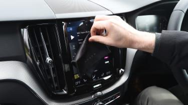 Volvo XC60 long-term test - cloth