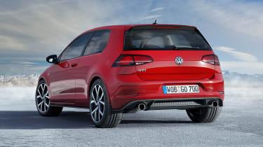 New 2017 Volkswagen Golf GTI - rear static