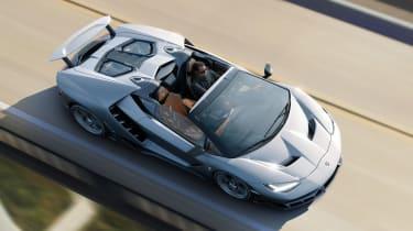 Lamborghini Centenario Roadster top
