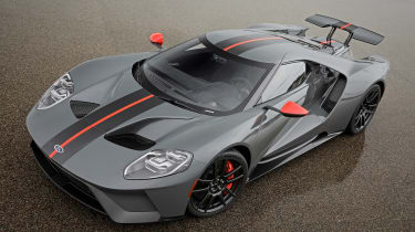 Ford GT Carbon Series - above static
