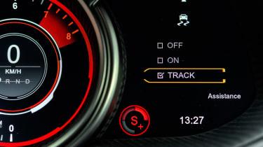 Aston Martin DB11 AMR - dials detail