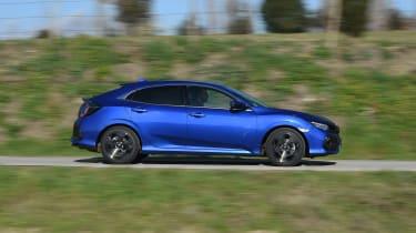 Honda Civic diesel - side