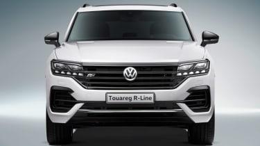 Volkswagen Touareg - full front