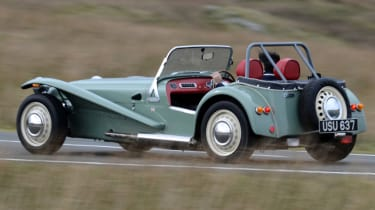 Caterham Seven road trip - rear action