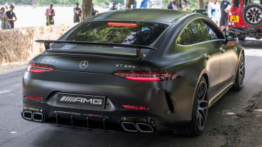 Mercedes-AMG GT four-door rear