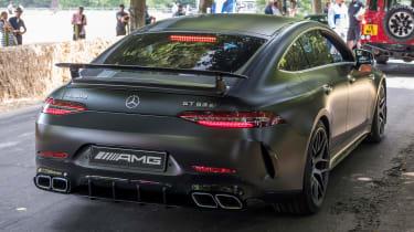 Mercedes-AMG GT four-door rear