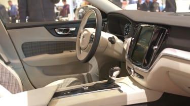 Volvo V60 geneva 2018 cabin