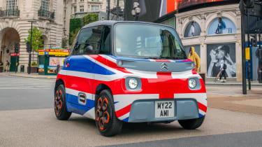 Citroen Ami UK - front action