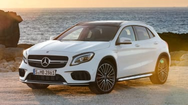 Mercedes-AMG GLA 45 - front static