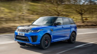 Range Rover review - tracking