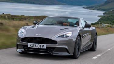 Aston Martin Vanquish 2014 action