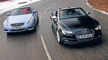 Audi S5 Cabriolet vs Infiniti G37