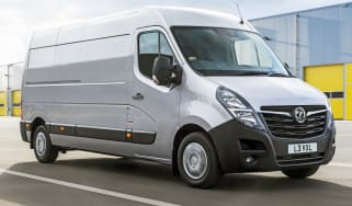 2019 Vauxhall Movano moving