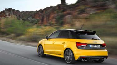 Audi S1 rear