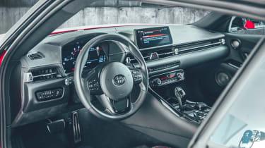 Toyota Supra - grey dash