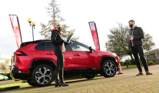 Covid car launch with Toyota