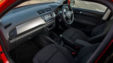 The interior is generally high quality and very well laid-out.