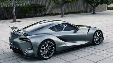 "It was visually striking, with an F1-style nose-cone moulded into the bonnet and bumper (like a McLaren-Mercedes SLR) and a wrap-around ""glasshouse"" cockpit borrowed from the old Toyota 2000GT."