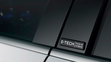 Renault Megane E-Tech - side badge