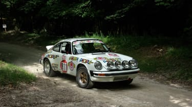 Think the Porsche 911 is meant for the road? Well, you might be right but plenty of rally versions exist - like this fine example.