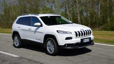 Jeep Cherokee diesel 2014 tracking