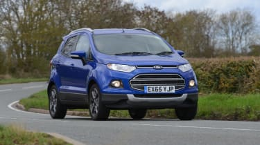 Ford EcoSport 2015 front cornering