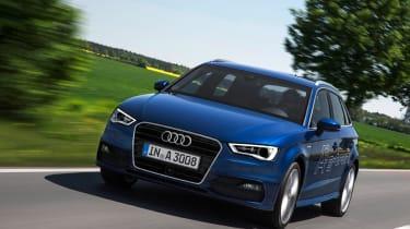 Audi A3 Sportback g-tron front action