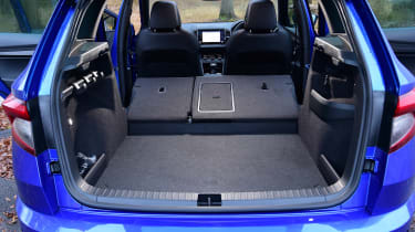 Skoda Karoq - boot seats down