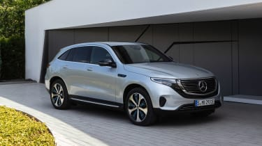 Mercedes EQC - front/side