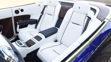 Rolls-Royce Dawn 2016 - rear seats