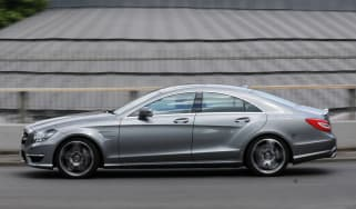 Mercedes CLS 63 AMG panning
