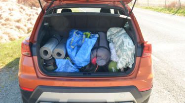 SEAT Arona FR - boot