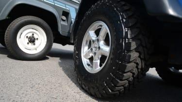 Land Rover Defender vs Jeep Wrangler - modern classics wheels