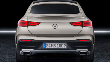 Mercedes GLE Coupe - rear static