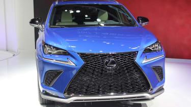 Lexus NX facelift 2017 front