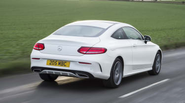 Mercedes C-Class Coupe - rear
