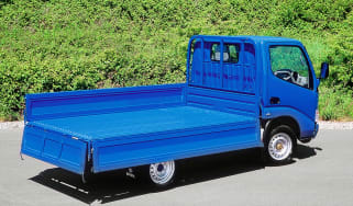 Rear and cargo bed